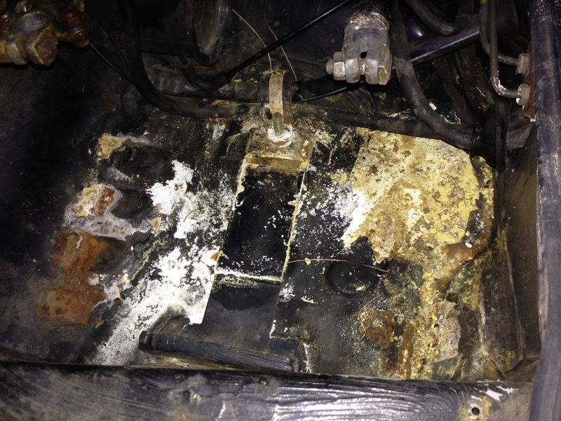 corrosion in battery tray pelican parts forums. Black Bedroom Furniture Sets. Home Design Ideas