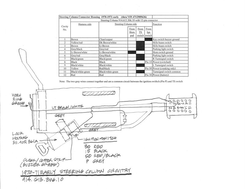 12 pin ignition switch wiring diagram