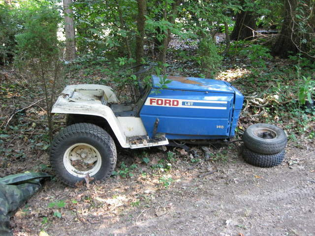 Thinking of repowering my Ford LGT garden tractor and I need some