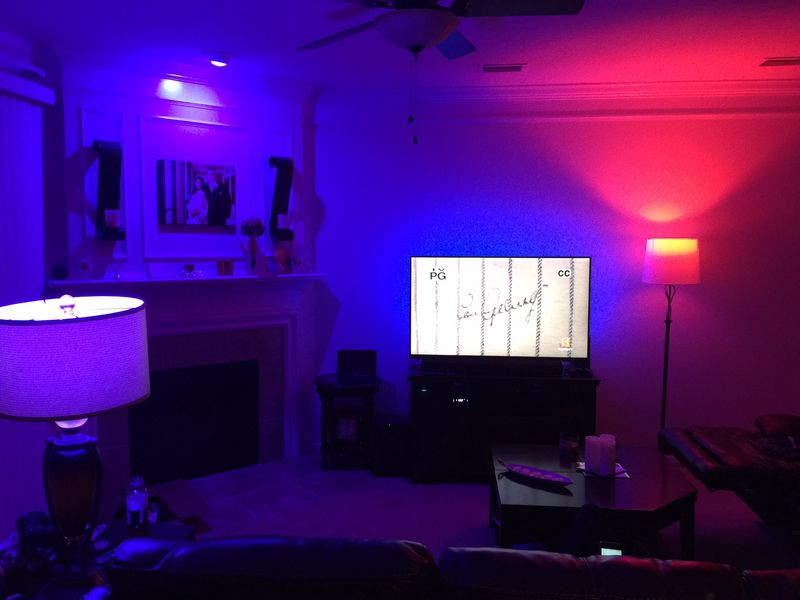Led Light Strips Behind Tv Free Biltek Biltek Ft Blue