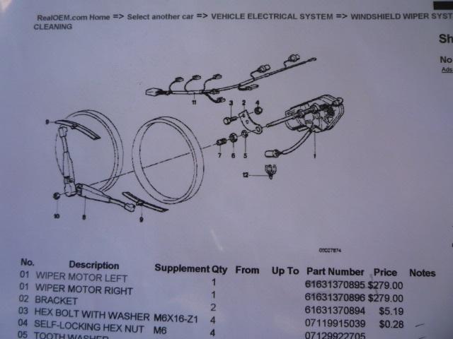 E30 Headlight Wipers Pelican Parts Technical Bbs