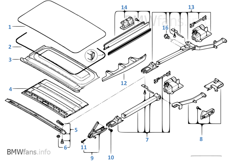 bmw e39 parts diagram