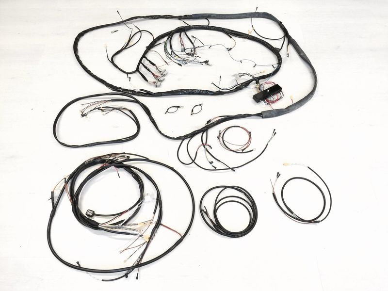 kroon wire harnesses for any type of classic porsche