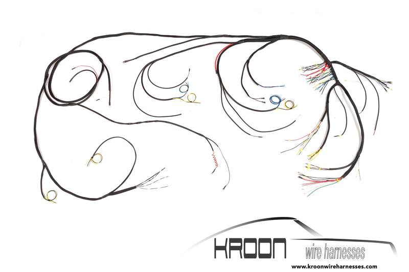 kroon wire harnesses for the 356