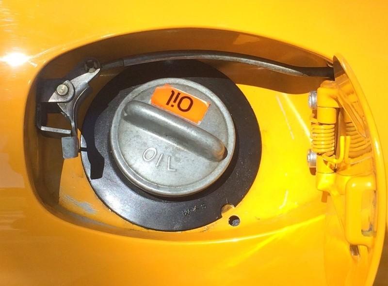 1972 911 Oil Flap Push Rod
