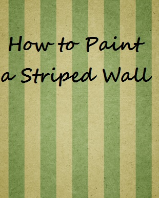 how to get striped lawn