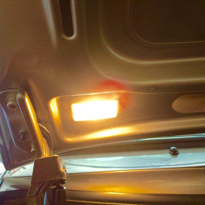 """911""""Late Model"""" Hood Intrerior Light"""