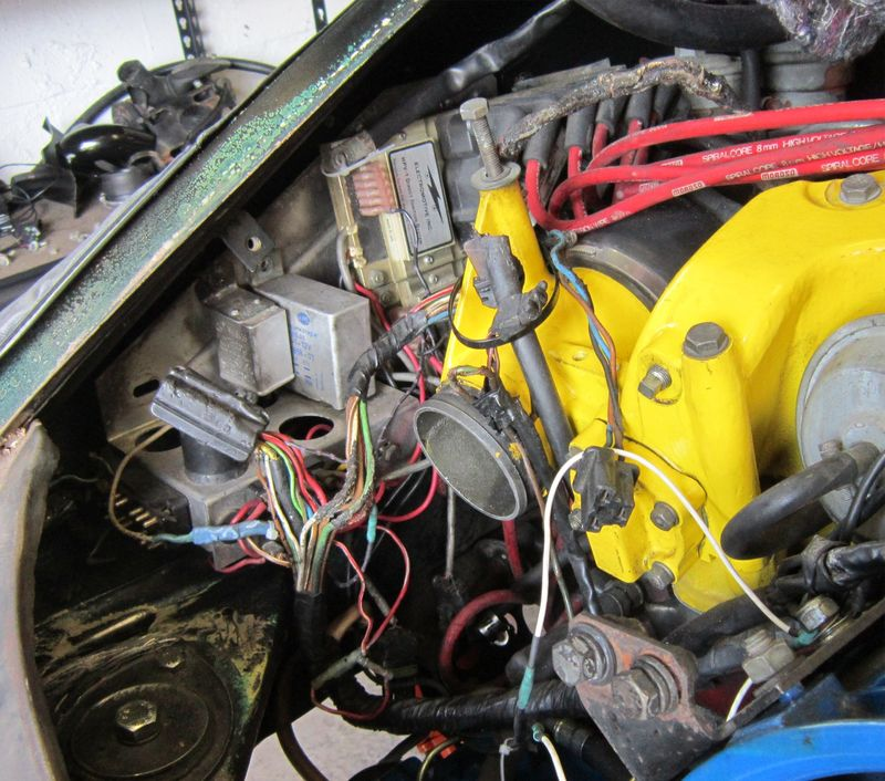 87 fiero fuel injection wiring diagram fuel injection