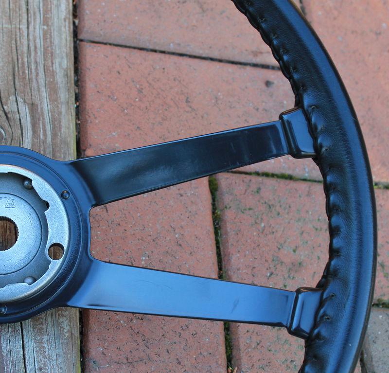 Early 911/912 Ebonite Steering Wheel