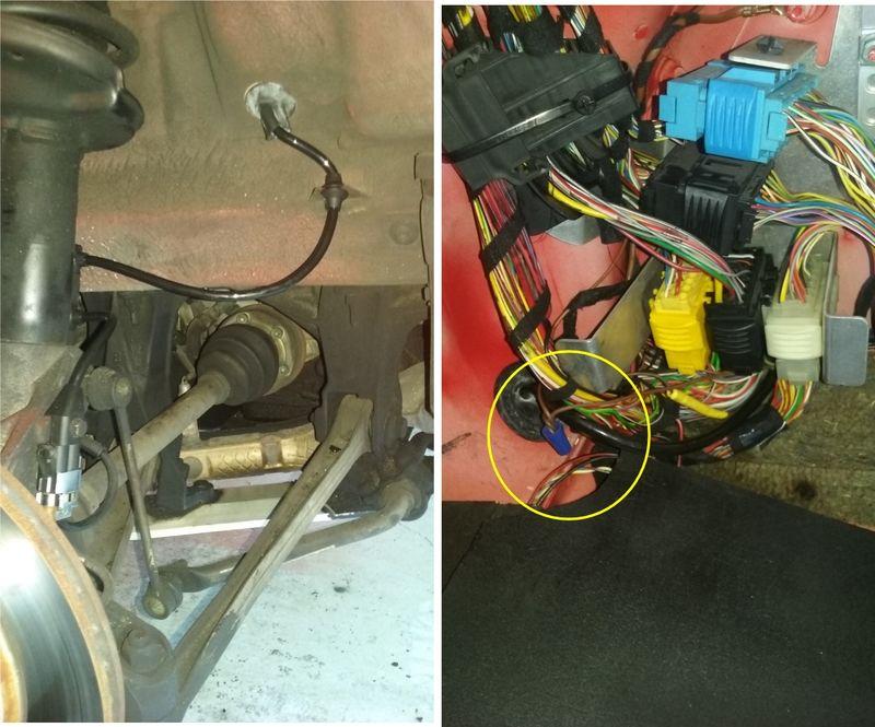 Abs Wire Harness Repair Kit  Speedometer Not Working