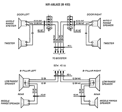 home theater speaker wiring diagrams 1985 928s stereo    wiring    page 3 pelican parts forums  1985 928s stereo    wiring    page 3 pelican parts forums