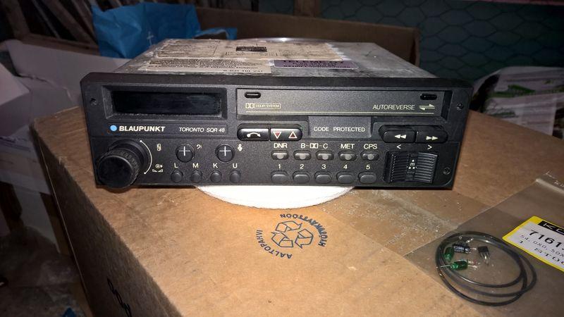 laupunkt toronto sqr 48 porsche 911 964 radio rare refurbish from rh forums pelicanparts com Toronto Blaupunkt Rdm-126 Porsche Blaupunkt Toronto