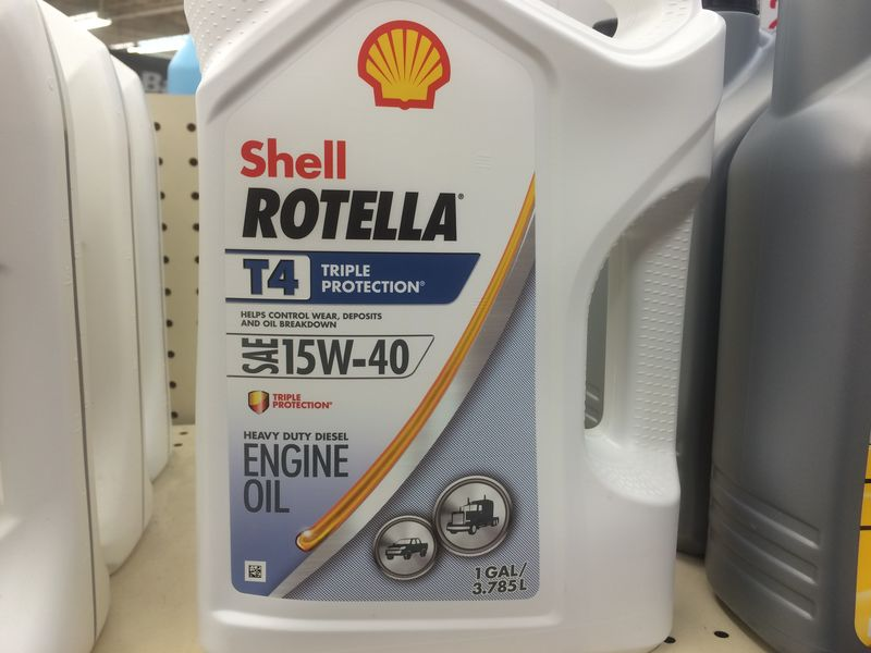 Shell Rotella T4 >> Shell Rotella T 15w40 Users Pelican Parts Forums