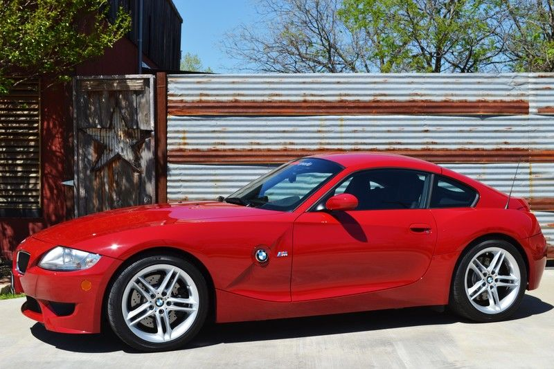 2007 Bmw Z4 M Coupe Imola Red 8k Miles One Owner Servced