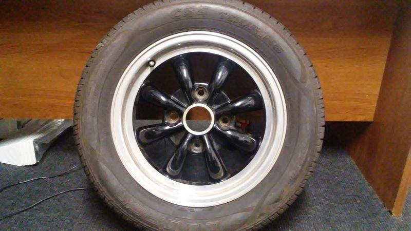 Empi 8 Spoke Black Wheels With Tires Pelican Parts Forums