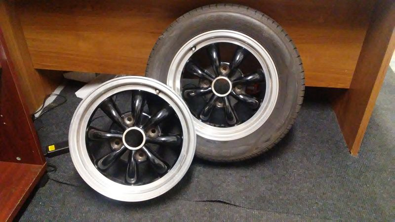 5 5.5 Rims >> Empi 8 Spoke Black Wheels with Tires - Pelican Parts Forums