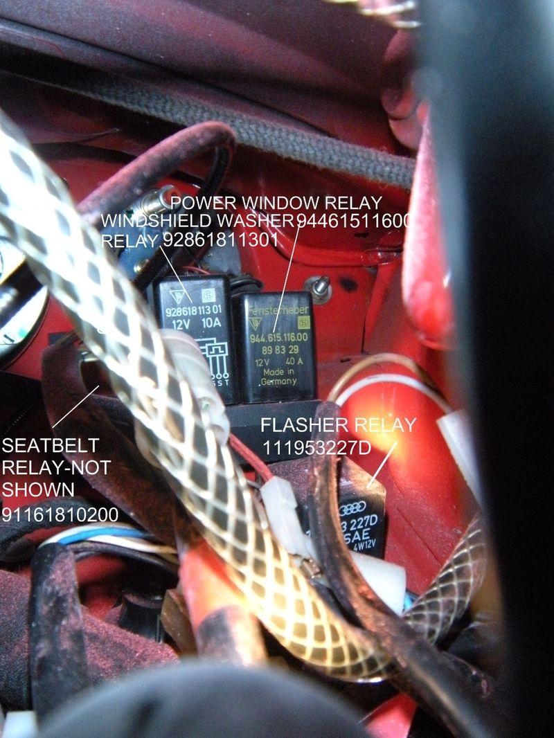 Electrical Relay Wiring Diagram On 1975 Porsche 911 Wiring Diagram