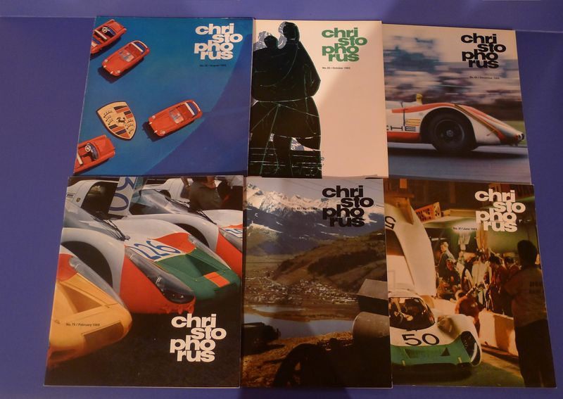 Fs 1969 1970 1971 1972 1973 Christophorus Full Year