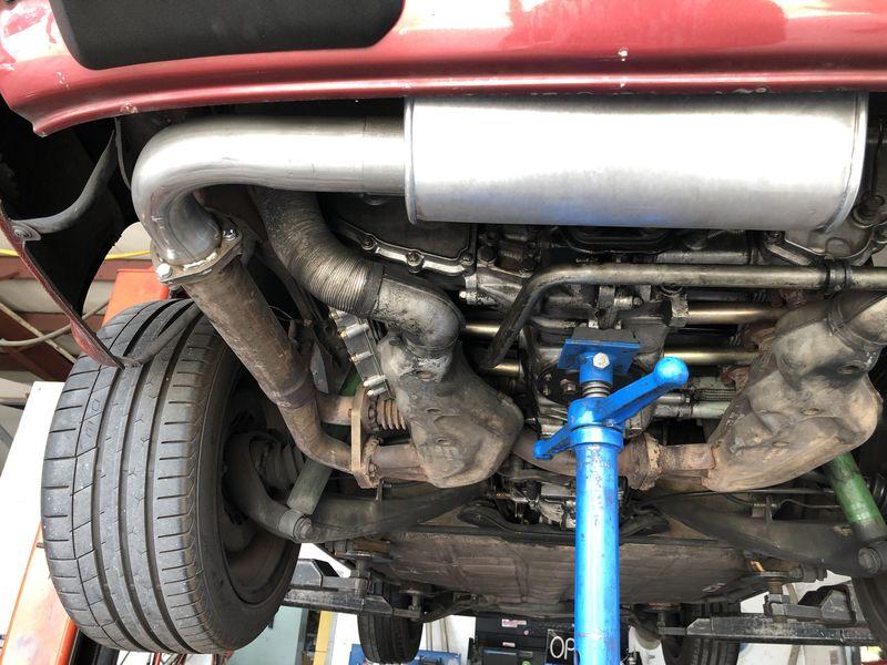 Muffler Delete Cost >> Exhaust pops and gurgles? - Pelican Parts Forums