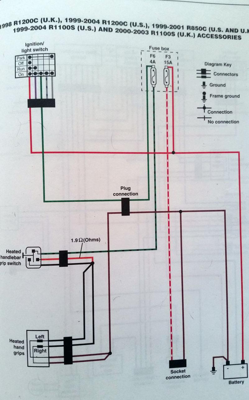 oil pressure light to heated grips short pelican parts. Black Bedroom Furniture Sets. Home Design Ideas