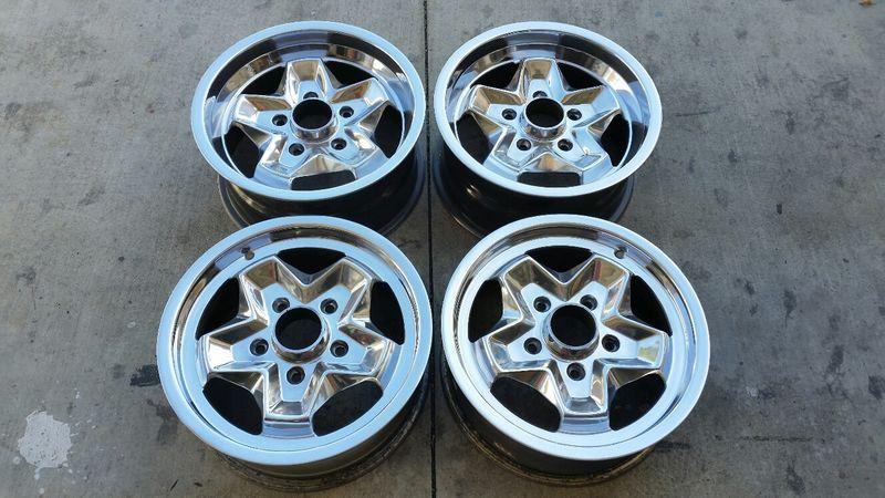 Porsche 911 912 Ats Cookie Cutter 15x6 Amp 15x7 Wheels