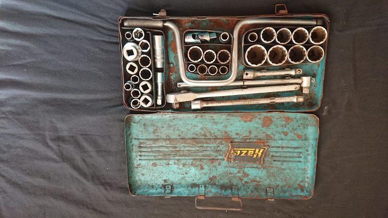 Vintage Hazet Socket Set 1950 Vw Porsche Workshop Tool