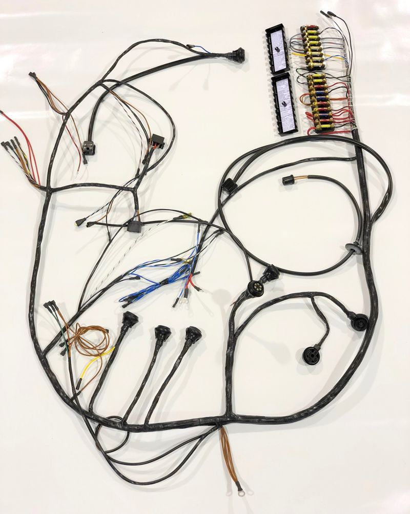 Kroon Wire Harnesses For Any Type Of Classic Porsche Page 13 Complete Electrical Wiring Diagram 912 New Harness Set A 1968 Shipped To Cpr Vintage Restoration In Easton Maryland Us Today