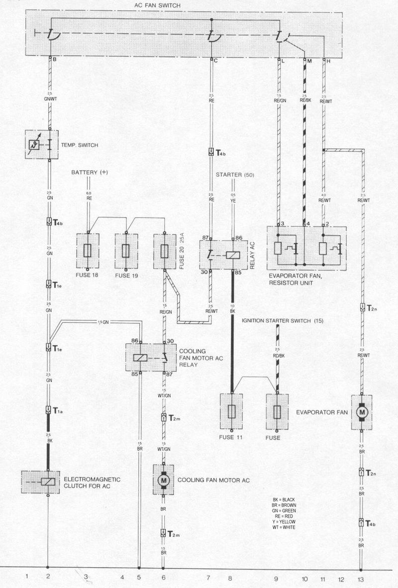 ... Porsche Ac Wiring Diagram Trusted Wiring Diagram