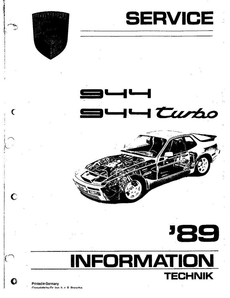 the porsche 944 and 924 s engine workshop manual volume i. Black Bedroom Furniture Sets. Home Design Ideas
