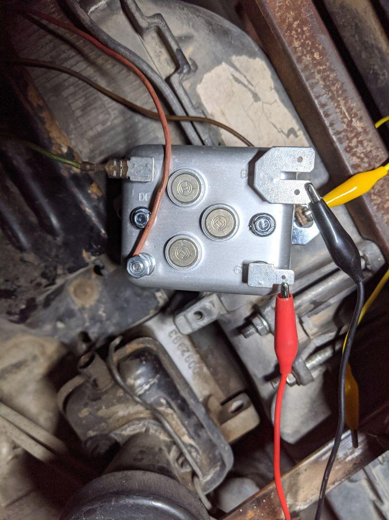 68 912 With 914 1 7 Alternator Wiring Help