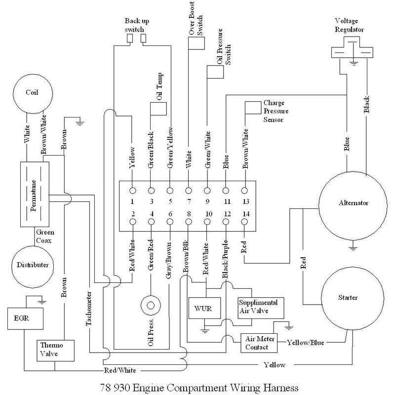 Need help 930 1987 turbo wiring diagram - Pelican Parts Forumsthe Pelican Parts Forum!