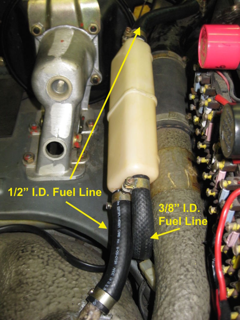 New Gas Tank Vent Lines