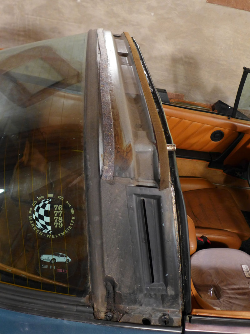 Sc Windshield Targa Window Seal Replacement And Trim