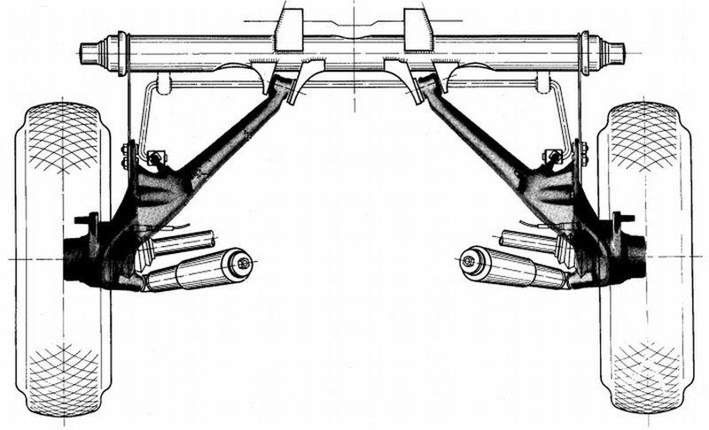 911 Carrera Rear Suspension