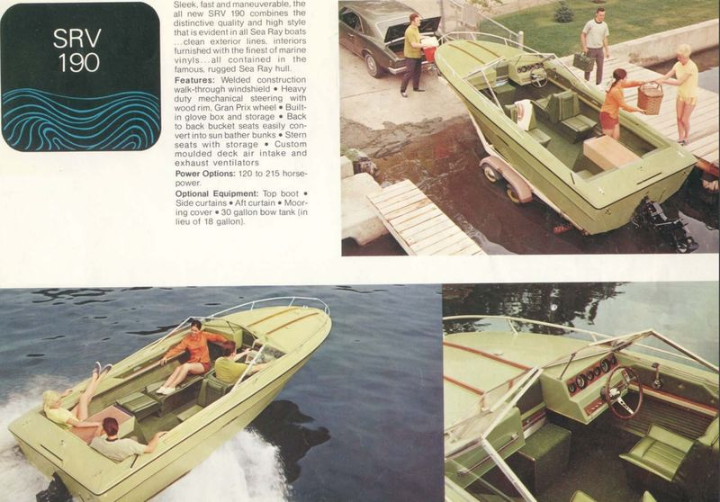1970 Sea Ray SRV190 with blown motor - Pelican Parts Forums