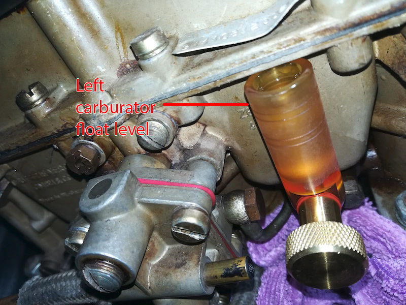 Holley Carb Flooding