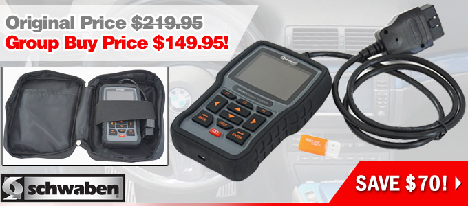 Group Buy Offer - Schwaben Pro Scan Tool for BMW / MINI