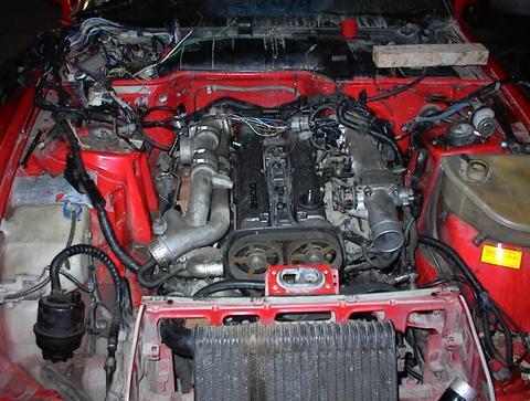 Porsche 944 motor swap