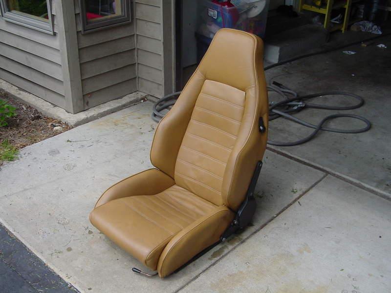 1 Fresh Recaro Sports Seat 1974 Beige Cork Pelican