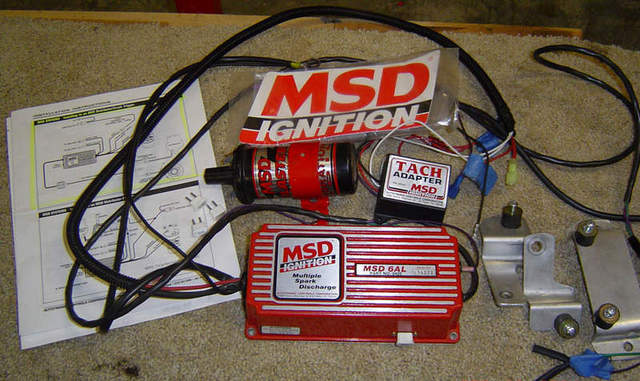 Msd 6al  Tach Adapter And Coil -for Sale