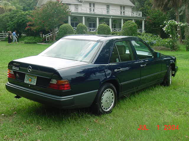 1989 dark blue mercedes benz 300e pelican parts for Mercedes benz 300e parts