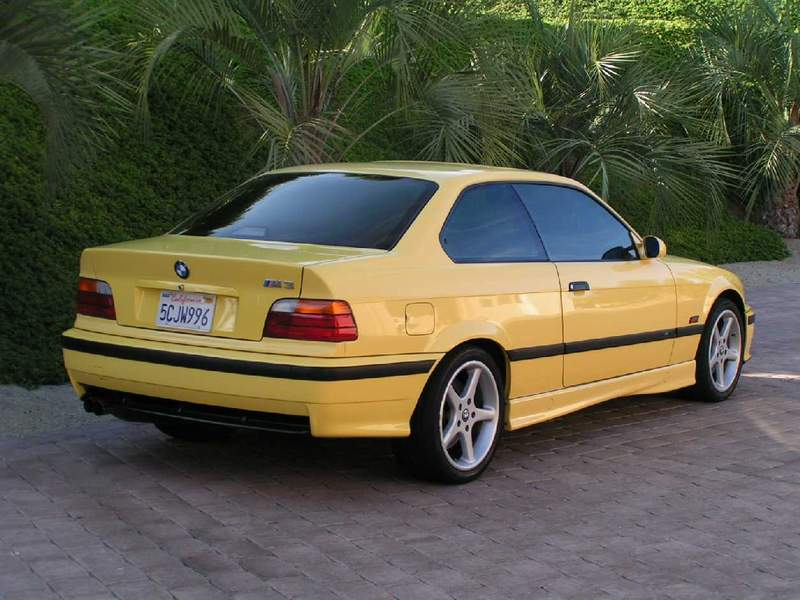 bmw e36 m3 dakar yellow for sale. Black Bedroom Furniture Sets. Home Design Ideas