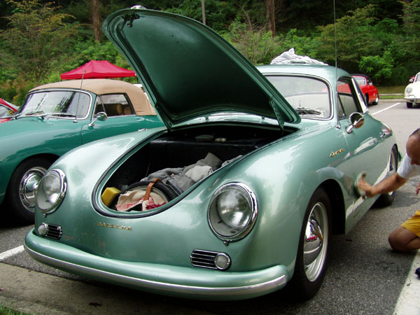 It Sure Makes The Car Look Old Get A 356