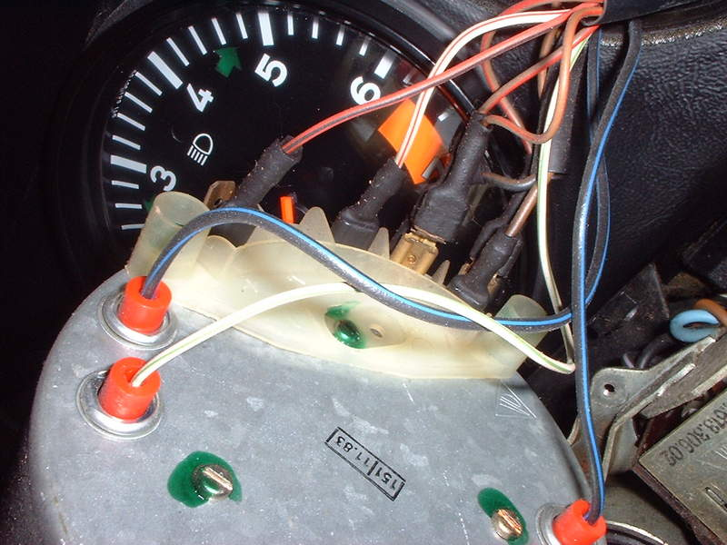 196987 Odometer Gear Replacement Electronic Speedometers Long on porsche 928 alternator wiring diagram