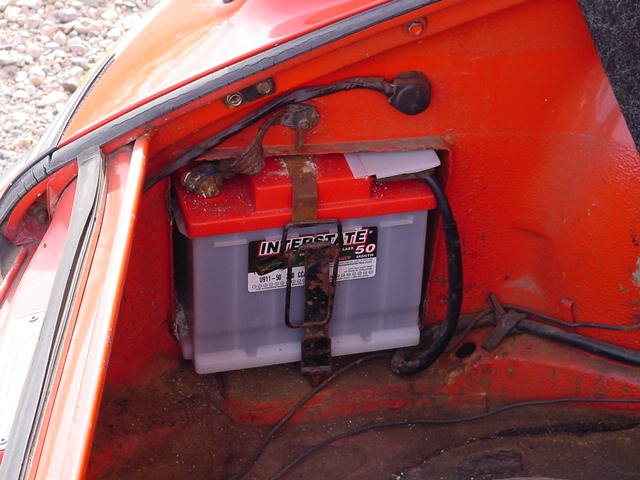 Battery For 73 911 Pelican Parts Forums