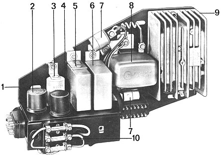 picture of 1973 mfi rear relay panel pelican parts technical bbs