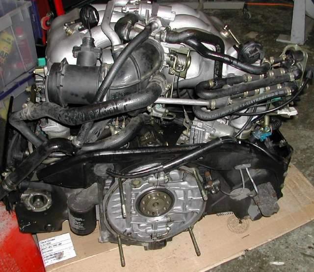 Porsche 993 Motor Abdichten: Air Flow Meter Part # 993 Engine