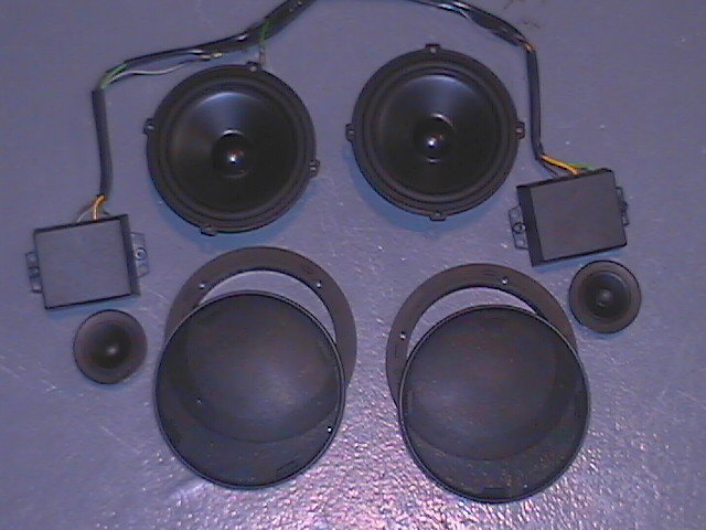 911 964 993 944 Stereo Speaker W Crossovers Pelican