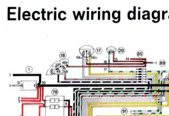 wiring diagram for fog light switch 71 pelican parts forums rh forums pelicanparts com 1968 Porsche 912 Wiring-Diagram Porsche 928 Fuel System Diagram