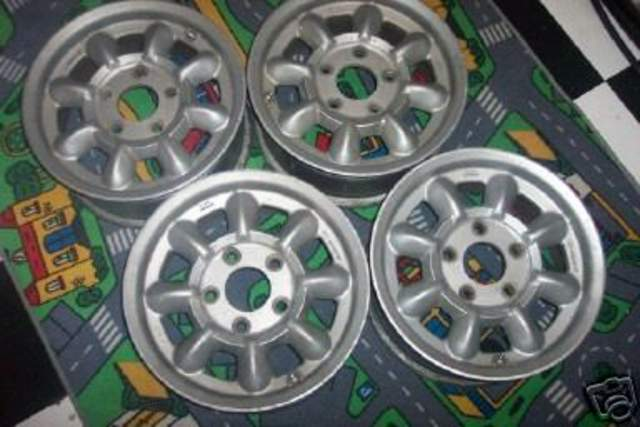 15x6 5 Quot Minilite Wheels For Sale Pelican Parts Technical Bbs